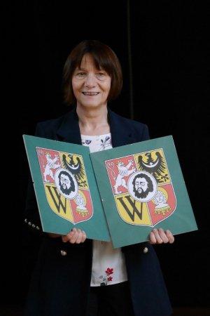 Odznaki Klas Herbowych tuz przed wręczeniem Autor: PJurkowski