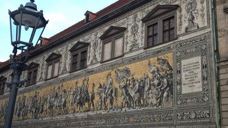 Podziwialiśmy też malowidło Orszak Książęcy