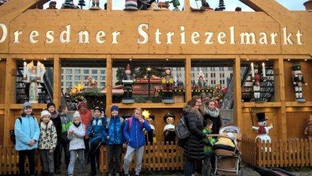 Wreszcie nasz główny cel - Jarmark Striezelmarkt!