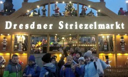 Popołudniową porą pożegnaliśmy Strizelmarkt w Dreźnie